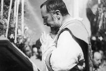 Padre PIO and The Saints
