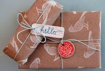 Gifts & Gift Wrapping / by Debi Taylor-Hough