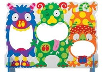 Entertaining MOnSTers! / Craft and projects for children of all ages. / by Andria C Miller