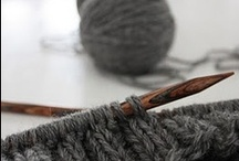 Knitting...maybe a little crochet on the side.   / by Rosemary Henderson
