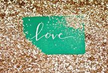 Glitter & Polka Dots  / by Lauren Howard