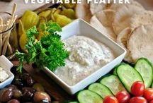 Appetizers, Dips & Snacks / First course meals :)