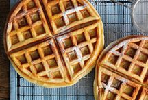 Waffles / Waffles for breakfast, dessert, disguised as a cake - we don't mind how you serve it we love them!