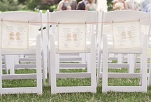 Clothespin Wedding Ideas / Clothespins have a place in (or near) a wedding? Yep, for some.