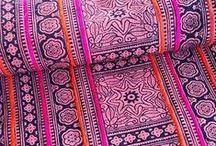 fabulous fabrics & textured textiles / #fabrics #textiles #surfacedesign #shibori #fabric #color #texture / by Kristin Damstetter