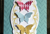 Cards - Butterfly Punched / by Theresa Stanley