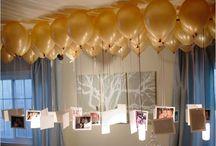 birthday party ideas / by Kalie Tebear