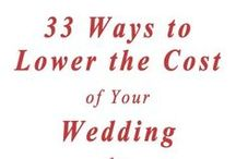 """Budget Wedding Ideas & Tips / Staying within budget when planning a wedding is tough. Here are some tools and ideas for doing so, including contributions from professionals on the lookout for anything to help your dream wedding come true on a """"diy budget""""...diy projects, shopping strategies, planning tools, wedding bargains, and more. Please add no more than TWO pins per day. Thanks! ~Bobette"""