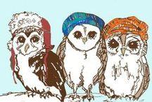 Owl things, because I like owls