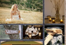 Rustic Wedding Ideas / Actually, at this point, the board is pretty much about any rustic wedding. The pins down at the end are more cool weather/late fall weddings, when the typical outdoor country wedding impractical, so they are about keeping it rustic while having the party inside.