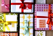 Giftwrap, Fabric, and Wallpaper / Inspirational Patterns for Design