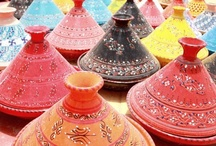 Wandering Through the Medina / Moroccan Bazaars, Patterns, and Colors