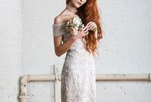 Bride-To-Be: Non-traditional Wedding Looks / Colorful gowns, edgy brides, and fun feathers