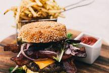Burgers and fries / by Justin Tackett