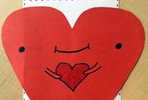 Caring Hearts / We partnered with a local school, Whiting Elementary in Whiting, Indiana, to mail Valentines to our senior clients. In February, we are sharing one a day!