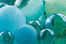 tiffany blue and aqua too / regal and cool, distant and haughty, antique and weathered - worthy / by Mary Callender Andrews