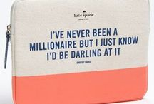 I've never been a millionaire but I just know I'd be darling at it / Things I must have