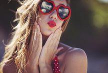Sunglasses. Lentes de sol / by Rosa Margarita