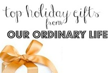 Our Ordinary Life Top Holiday Gifts  / #PinTheHalls   / by OurOrdinaryLife
