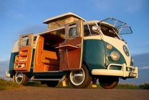 VW / VW vans, campers, busses, and others / by Vada Q