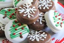 !Christmas Recipes! / Everything Christmas! Candy canes, mint, peppermint, chocolate, eggnog, gingerbread, etc.
