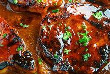 !Pork Recipes! / Recipes and cooking tips and ideas for pork: bacon, roasts, pork chops, tenderloin, sausage, etc.