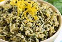 !Rice Recipes! / All kinds of rice dishes! Fried rice, rice casseroles, Asian food and more!