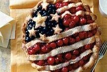 Recipes: Fourth of July & Canada Day / Recipes for the Fourth of July or Canada Day! All about the red and white or the red, white and blue! / by Ashley | The Recipe Rebel