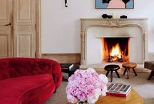 Art-Filled Apartment in Paris's Marais / An Art-Filled Apartment in Paris's Marais district For close to 25 years, decorative-arts dealers Laurence and Patrick Seguin have championed the work of a handful of French modernists. Jean Prouve, Pierre Jeanneret, Jean Royere, Charlotte Perriand, Georges Jouve,