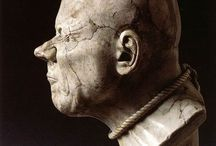"""Franz Xaver Messerschmidt / Franz Xaver Messerschmidt (February 6, 1736 – August 19, 1783) was a German-Austrian sculptor most famous for his """"character heads"""", a collection of busts with faces contorted in extreme facial expressions."""