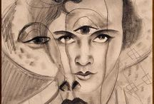Francis Picabia | Superimpositions / Superimposition Paintings by Francis Picabia