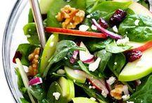 !Salad Recipes! / All kinds of salads! Green salads, spinach salads, taco salads, potato salads, fruit salads and more!