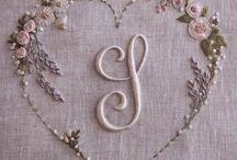 • Cross stitch/rococo knot ideas