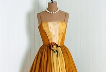 Dress Style Inspiration / Fabulous frocks, modern shifts, and vintage dresses.