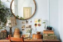 Creative Work Spaces / Inspiring Creative Spaces for photography, DIY, crafting, and art