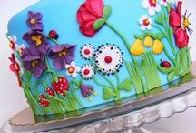 Cakes With Themes / by The Crafting Place.Etsy.com Rebecca Casiano