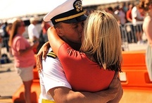 Homecoming: Ideas and Advice for Military Homecomings / Welcoming back your loved one is exciting and nerve-wracking!  What to wear, how to act, what to expect, are some great questions that we find answers to.  Check here for advice when your soldier, airman, coastie, or marine returns to your loving arms.  / by Military Spouses