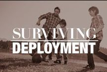 Surviving Deployment / Living with your loved one being deployed is one of the most complex, frustrating, and difficult to explain times of your life.  We have pulled together some resources that may give you the encouragement and advice you need.  Please repin to help other Military Spouses find the help they need, and feel free to share an experience you had or some wise words others may need to hear.       Happy pinning!  / by Military Spouses