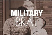Military Brat / Military kids possess the courage and strength that surpasses some adults. Growing up with a deployed parent and PCS moves are just a few of the challenges our Military kids face fearlessly.  Check out all the information, tips, and advice below that will help you help your little one grow up happy and healthy.  / by Military Spouses