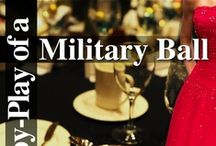 Military Ball: Looking and Playing the Part / Military Balls can be extremely fun, but also a little intimidating! Whether your a seasoned vet to the formal affairs, or this will be your first time as his arm-candy, we have the advice you need.  What to wear, how to wear it, and how to maneuver the customs and traditions of such a special event. / by Military Spouses