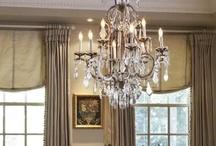 chandelier love!! / by Debbie Buchholz