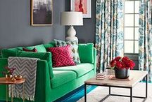 Modern Home Style / Mohawk Home's modern area rugs come in numerous colors and styles for a modern look you'll love.