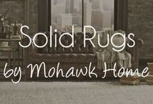 Solid Rugs by Mohawk Home / Extremely versatile are Mohawk Home's solid rugs.  These can be placed in almost any setting and come in an array of colors. / by Mohawk Home