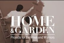 """Home and Garden: Military Spouse Style / Home improvement, gardening and DIY projects/ideas for the weekend warrior. Take a look, take a deep breath, and repeat after me, """"I can do this.""""  / by Military Spouses"""