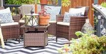 Outdoor Living / There are countless ways to improve your outdoor living areas! Mohawk Home makes doormats and indoor/outdoor area rugs here in the USA and we'll offer tips and tricks for expressing your style in this fresh space. Learn how to hang patio string lights, plant flowers that can beat the heat, or decorate your deck or patio for the season.