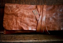 kibisis leather bags / by kibisis - vegetable tanned #leather creations - hand cut hand stitched in italy with needle and thread - Italian handcrafted bags & accessories - made in italy - #bag cuff purse coin wallet belt tobacco pouch notebook moleskine
