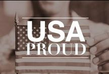 USA Proud / And I'm proud to be an American, where at least I know I'm free. And I wont forget the men who died, who gave that right to me. And I gladly stand up, next to you and defend her still today. 'Cause there ain't no doubt I love this land, God bless the USA. / by Military Spouses