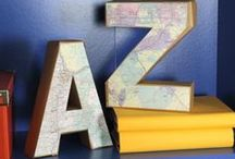 Letters From A to Z / by The Crafting Place.Etsy.com Rebecca Casiano
