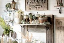 Thanksgiving Home Decor / Make it a Mohawk Home Thanksgiving! Prepare your home for holiday parties and gatherings with style inspiration, fall decor, tips and tricks for entertaining, recipes and more from Mohawk Home.