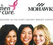 PINK OUT by Mohawk Home / Pink Out for October with Mohawk Industries!  Our mission is a simple one: to turn Mohawk Pink for October in an effort to help bring attention to Breast Cancer Awareness Month, get people talking about breast cancer, and raise money for research.